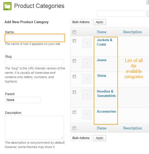 jigoshop product configuration