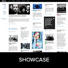 Showcase of notable WordPress theme WallPress