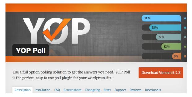 Yop Polls Plugin