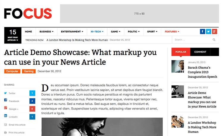 Top 15 News Magazine Wordpress Themes Designwall
