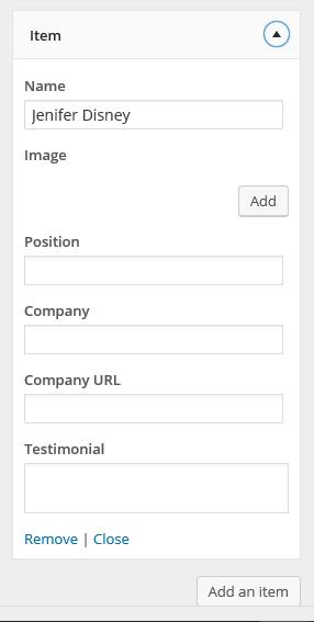 DW Resume - Client Section