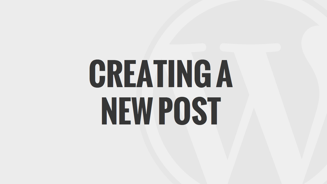 Create A New Post