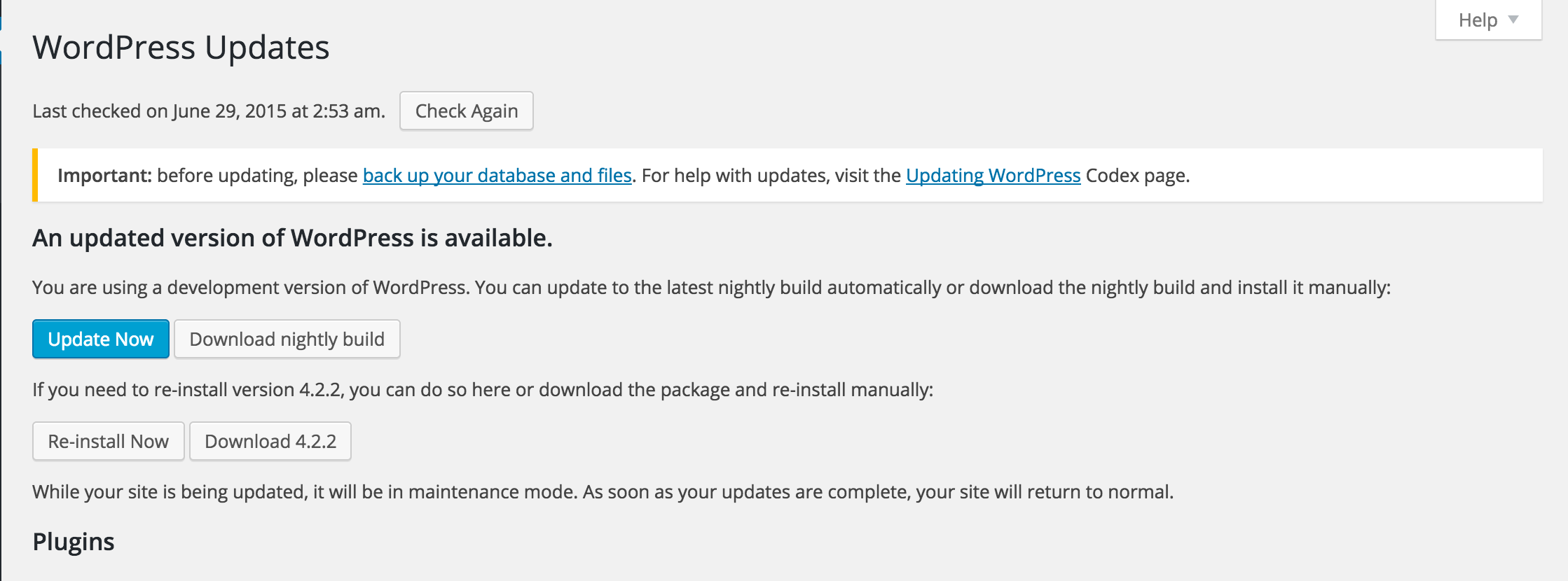 Go to handbook testing beta to see how to download WordPress Beta version