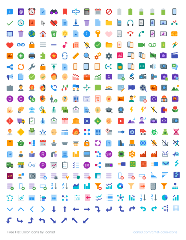 67a46dcacc24 100+ Awesome Free Icons Sets