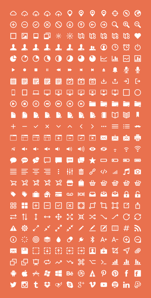 19-100+ Awesome Sets of Free Icons