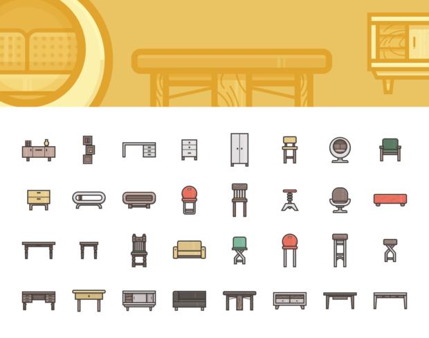 22-illustricons-furniture