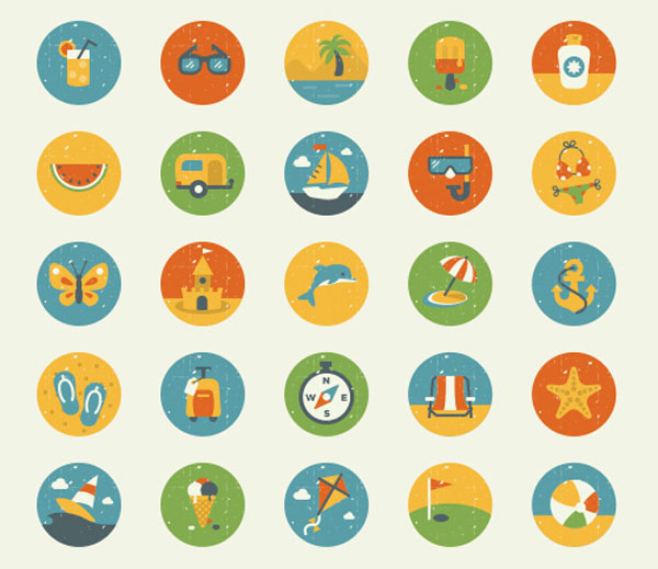 27-50-free-summer-vintage-icons