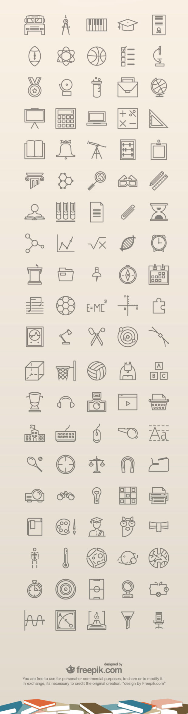 35-100-free-education-icons