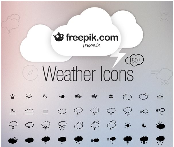 5-weather-icons