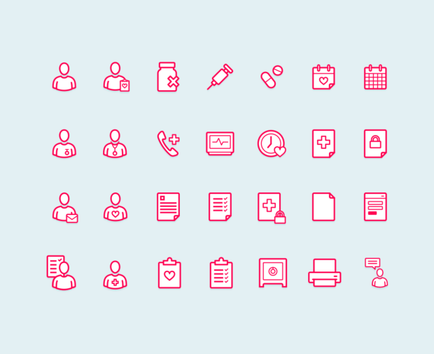 100 awesome free icons sets