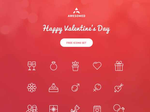 free-valentines-day-icon-set