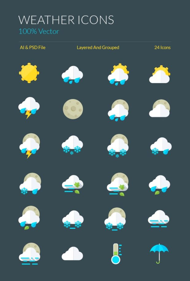 weather-icons-symbols