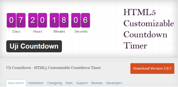 Best Free & Premium WordPress Countdown Timer Plugins | DesignWall