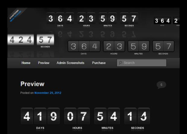 Best Free & Premium WordPress Countdown Timer Plugins   DesignWall