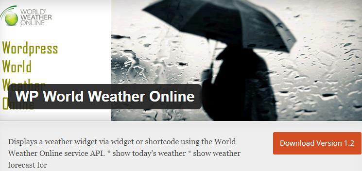 WP World Weather Online
