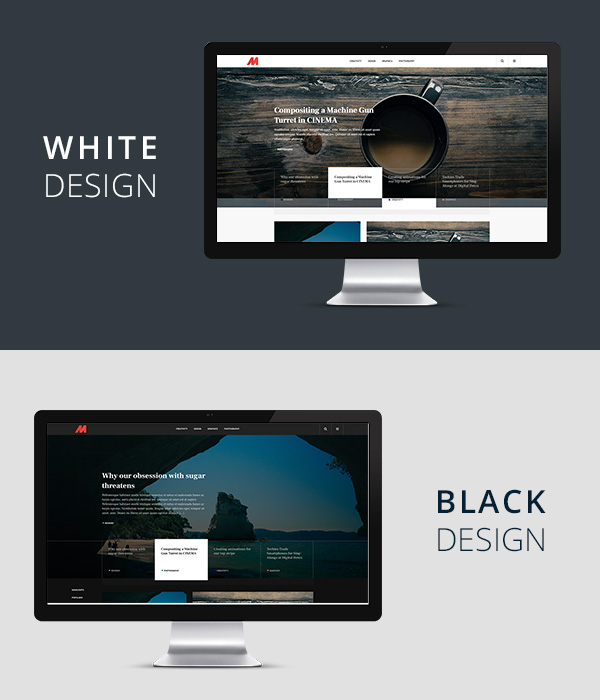 Black & White Design