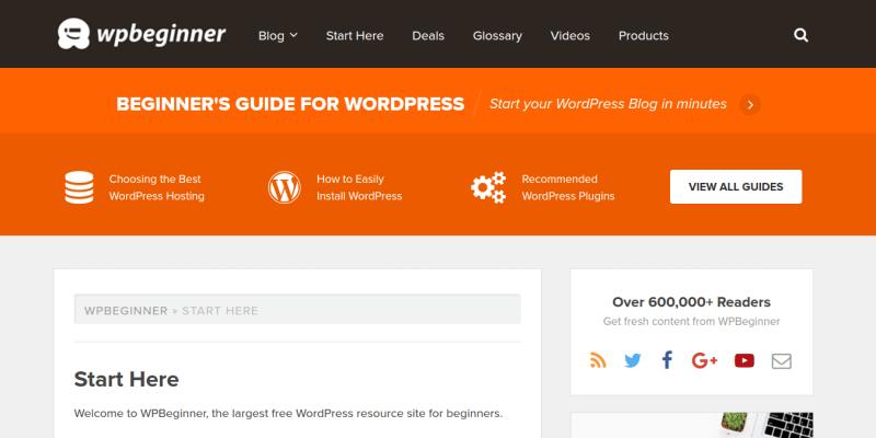 WPBeginner WordPress Blog