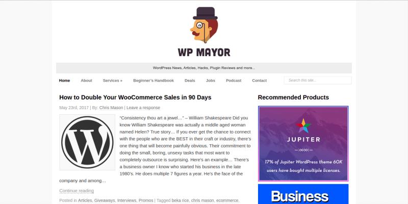 WPMayor WordPress Blog
