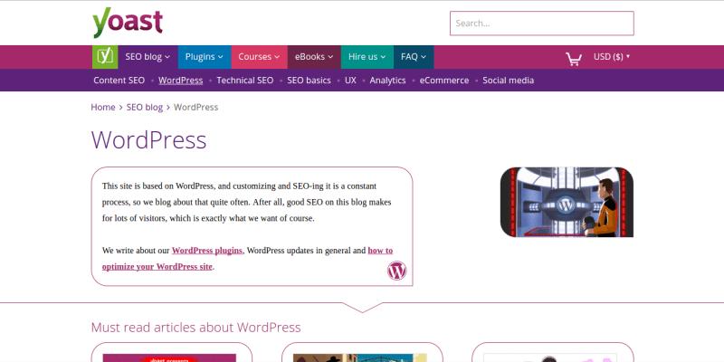 Yoast WordPress Blog