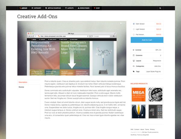 DW ARGO - Responsive WordPress Theme for Magazine