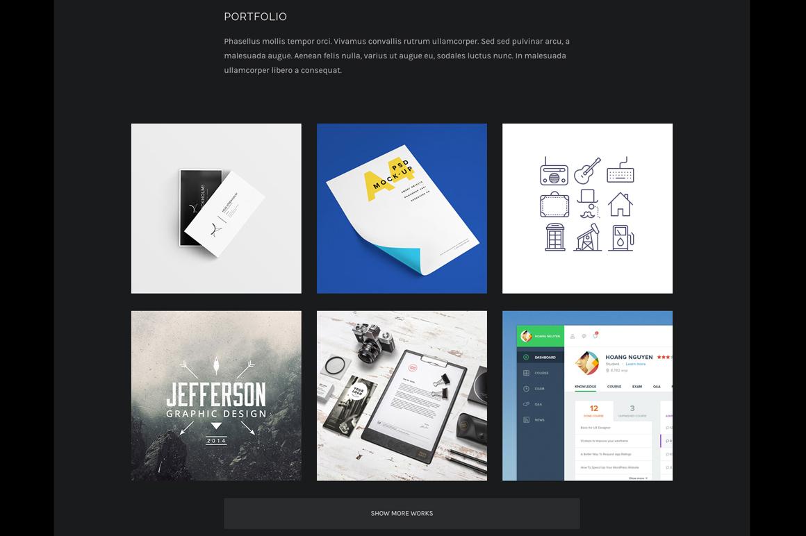 responsive wordpress cv  u0026 portfolio theme