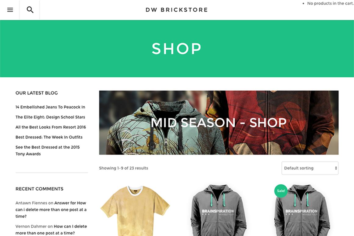 DW BrickStore